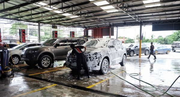 mô hình rửa xe máy chuyên nghiệp
